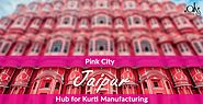 Pink City : Jaipur hub for Kurti Manufacturing - Aks Clothings - Medium