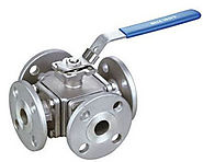Ridhiman Alloys is a well-known supplier, dealer, manufacturer of Four Way Ball Valves in India