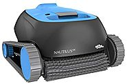 Maytronics 99996113-US Dolphin Nautilus Robotic Pool Cleaner, Blue/Black With Clever Clean