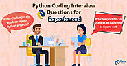 Python Programming Interview Questions [2019] - Crack your Coding Interviews - DataFlair