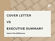 Cover Letter Vs Executive Summary - Fresh Proposals