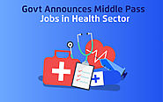 Govt Announces Middle Pass Jobs in Health Sector - tutoria.pk-blog