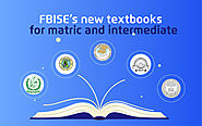FBISE's New Textbooks for Matric and Intermediate - tutoria.pk-blog