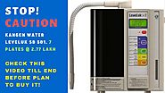 Kangen water machine sd501, STOP! CAUTION!! watch till end. you buy the kangen water machine india.