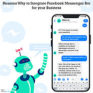 Reasons why to integrate Facebook messenger bot for your business - botpenguin
