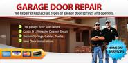 Same day garage door service