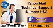 Yahoo Mail Customer Support Number @1877-503-0107