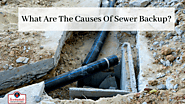 What Are The Causes Of Sewer Backup?