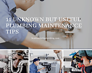 11 Unknown but Useful Plumbing Maintenance Tips – Local Business Express