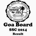 Goa Board 10th Class Result 2014, GBSHSE SCC Results 2014