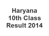 HBSE 10th Class Result 2014, Haryana Board X Class Result 2014