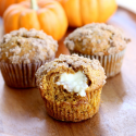 Pumpkin Cream Cheese Muffins | The Girl Who Ate Everything