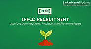 Indian Farmers Fertilizer Cooperative Limited - IFFCO Recruitment - Sarkari Naukri