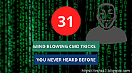 31 Awesome CMD Commands Tricks You Never Heard Before