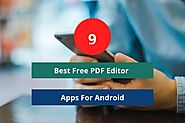 9 Best Free PDF Editor App For Android| No.4 is the BEST