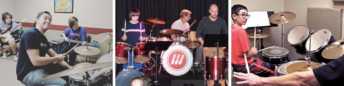 Headline for Drum Lessons in Overland Park, Lenexa & Prairie Village