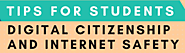 Website at http://10-Digital-citizenship-and-internet-safety-tips-for-students-Posters-by-Kathleen-Morris-2019-riy305...