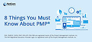 8 Important things about PMP® - Project Management Professional Certification