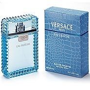 Versace Man Eau Fraiche By Gianni Versace For Men Edt Spray 3.4 Oz