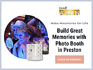 Make Your Event Perfect with Photo Booth in Preston | Carey Events
