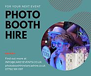 Best Photo Booth in Preston | Carey Events