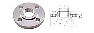 Stainless Steel Carbon Steel Threaded Flanges Manufacturers in India - Nitech Stainless Inc