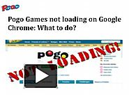 Pogo Games not loading on Google Chrome: What to do?