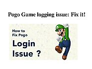 How to Fix POGO Game Logging Issue?
