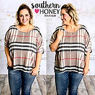 Such a fun everyday top - Women's Plus Size Tops by Southern Honey