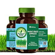 Order Wheatgrass Capsules Online with Amazing Offer