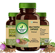 Get Milk Thistle Supplement for Liver Diseases