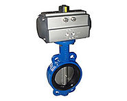 Ridhiman Alloys is a well-known supplier, dealer, manufacturer of Pneumatic Butterfly Valves in India