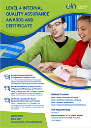 ELN Level 4 Internal Quality Assurance Courses