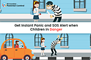 Get Instant Panic and SOS Alert when Children in Danger - VR Bonkers