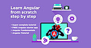 Angular Tutorial: Learn Angular from scratch step by step