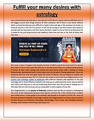 Fulfill your many desires with Astrology