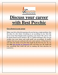 Discuss your career with Best Psychic