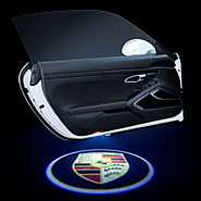 Porsche Macan Door Logo -Mark Your Firm Presence with the Brand Logo – AoonuAuto
