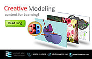 Creative 3D-Modeling content for Learning!
