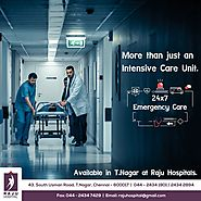 Intensive care unit 24/7 in chennai