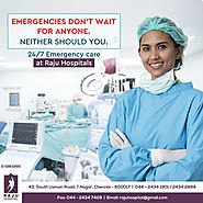 Emergency and Critical Care Hospital in Chennai