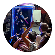 Hire Wedding Entertainment Magic Mirror in Preston | Carey Events