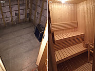 Sauna Refurbishment, Leeds - Aqualine Wellness
