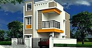 Small and Modern Home Elevation Design in India