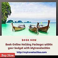 Book online Holiday tour packages from USA | Mytravelocities