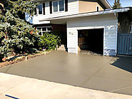 Concrete Driveway Poured Right- Calgary