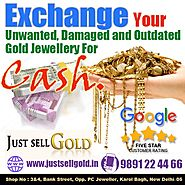 Trusted gold and silver buyer in delhi| justsellgold.in