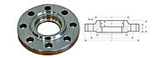 Stainless Steel Carbon Steel Socket Weld Flanges Manufacturers in India - Nitech Stainless Inc