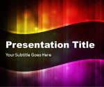Abstract Curves 2 PowerPoint Template