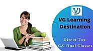 CA Final Virtual Classes Direct Tax and Indirect Tax